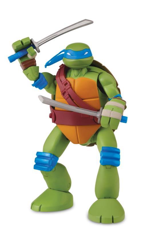 figurine articule tortues ninja leo teenage mutant ninja turtles mutations 14 cm autres figurines et rpliques achat prix fnac - Tortue Ninja