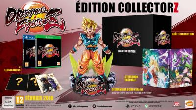 Dragon Ball Fighter Z Edition Collector Xbox One