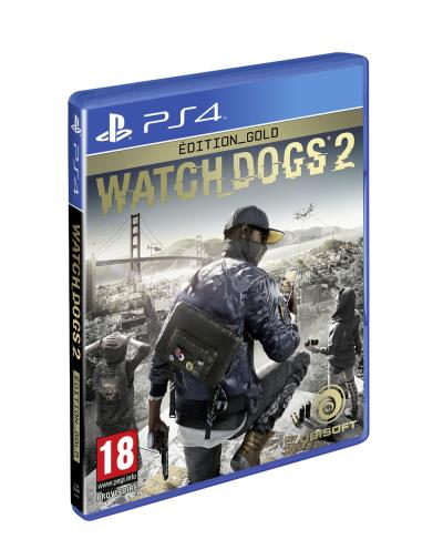 Watch Dogs 2 Edition Gold PS4