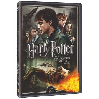 Harry PotterHarry Potter et les reliques de la mort Partie 2 DVD