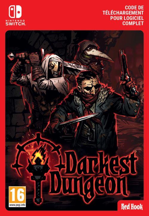 Code de téléchargement Darkest Dungeon Nintendo Switch