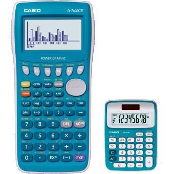 Casio Bundle Graph 25+E / Calculatrice Graphique Ms6 Nc Blue