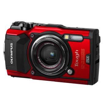 Compact Olympus Tough TG-5 Rouge