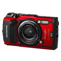 Olympus TG-5 Compact Camera Red