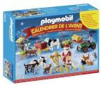 Playmobil Calendrier de l'Avent 6624 Père Noël à la ferme