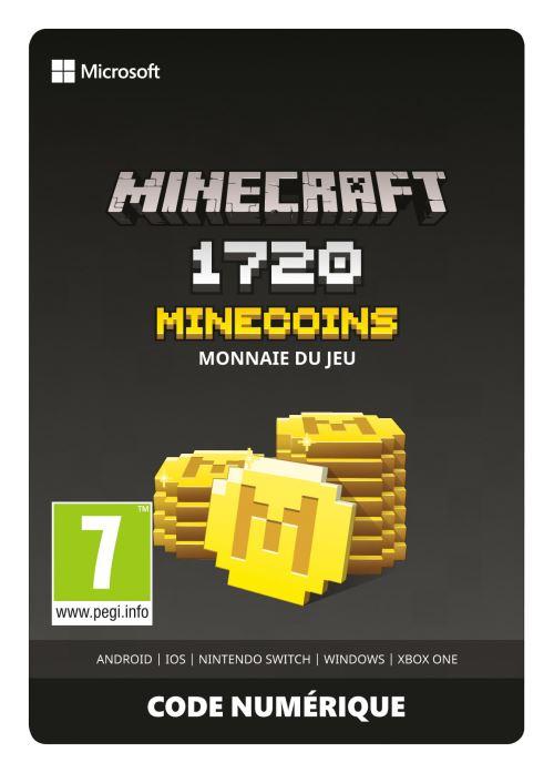 Code de téléchargement Minecoins Pack 1720 Coins Xbox One