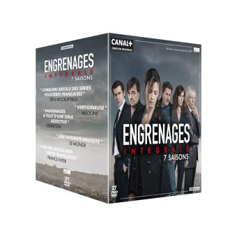 Coffret Engrenages Saisons 1 à 7 DVD