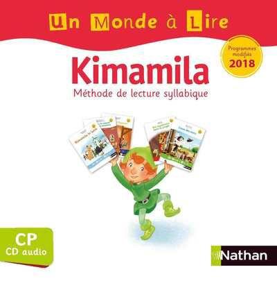Un Monde à lire série blanche - CD audio CP 2019