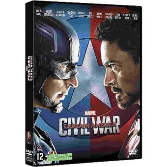 Captain AmericaCaptain America : Civil War DVD