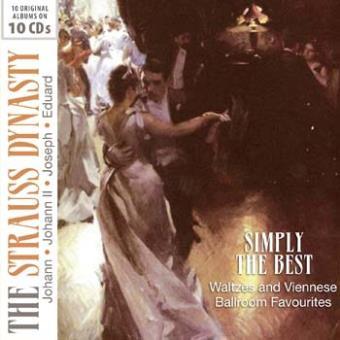 ORIGINAL ALBUMS JOHANN STRAUSS/10CD