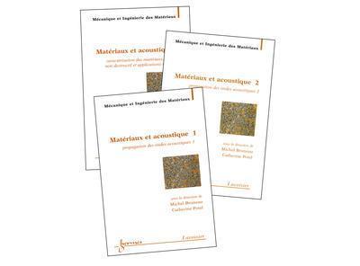 Materiaux et acoustique en 3 volumes traite mim serie alliag