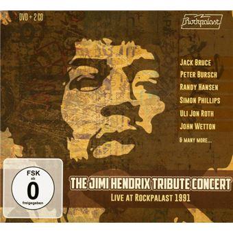 Box Set The Jimi Hendrix Tribute Concert. Live at Rockpal 1991 - 2 CDs + DVD
