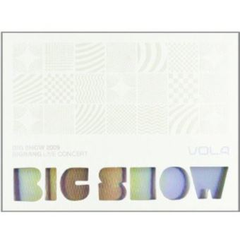 Big show 2009 bigbang concert live album