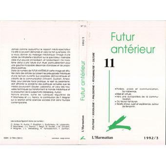 Futur anterieur,11