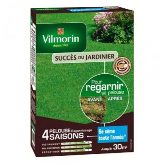 Pelouse regarnissage 4 saisons Vilmorin 1 kg