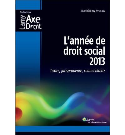 L'année de droit social