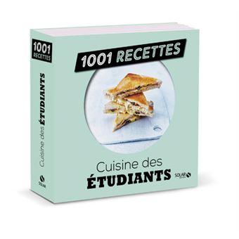 Cuisine des tudiants 1001 recettes 1001 recettes - Cuisine economique 1001 recettes ...