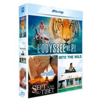 L'Odyssée de Pi - Sept ans au Tibet - Into the Wild Coffret 3 Blu-Ray