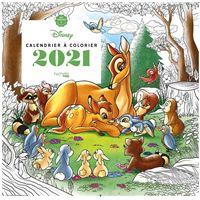 Calendrier Art-thérapie Disney à colorier 2021