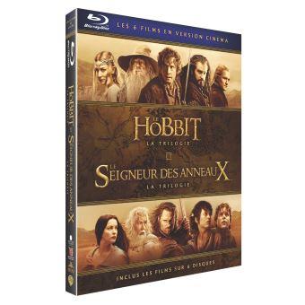 Le Seigneur des anneauxCoffret Middle Earth Light 6 films Blu-ray