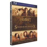 Coffret Middle Earth Light 6 films Blu-ray
