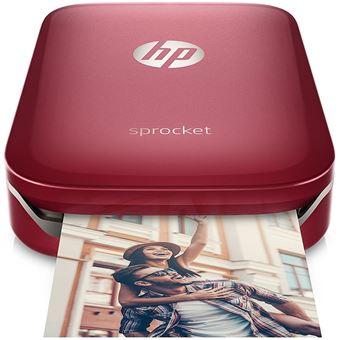 HP Sprocket Inkjetprinter Red