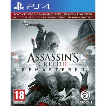 ASSASSIN'S CREED III REMASTERED FR/NL PS4