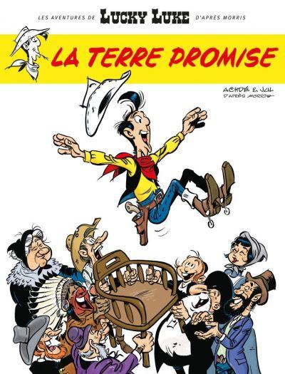 Les Aventures de Lucky Luke d'après Morris - Tome 7 - La Terre Promise - 9782205169454 - 5,99 €