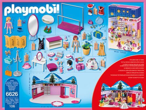 Calendrier De L Avent Playmobil Pas Cher.Playmobil Calendrier De L Avent 6626 Loge D Artiste