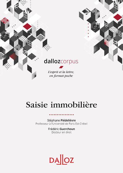 Saisie immobilière - 1ère édition