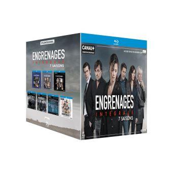 EngrenagesCoffret Engrenages Saisons 1 à 7 Blu-ray
