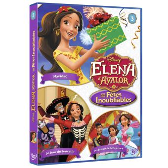 Elena d'AvalorElena d'Avalor Des fêtes inoubliables Volume 3 DVD