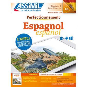 Pack App Livre Perfectionnement Espagnol