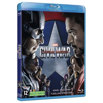 Captain AmericaCaptain America : Civil War Blu-ray