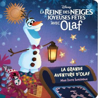 La reine des neiges mon livre lumineux reine des - Joyeuses fetes magasin ...