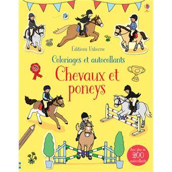 Chevaux et poneys - Coloriages et autocollants