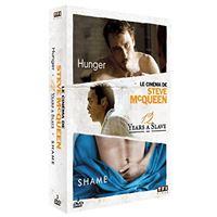 Le Cinéma de Steve McQueen : Hunger, 12 Years A Slave, Shame Coffret DVD