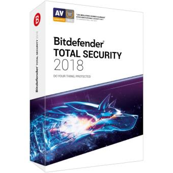 Bitdefender Total Security 2018 2 Ans 10 Postes