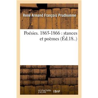 Poésies 1865 1866 Stances Et Poèmes éd18