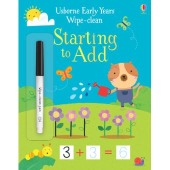 Key Skills Wipe-Clean - Early Years First Sums - Age to 4-5