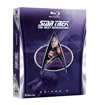 Star Trek The Next GenerationCoffret intégral de la Saison 6 - Blu-Ray