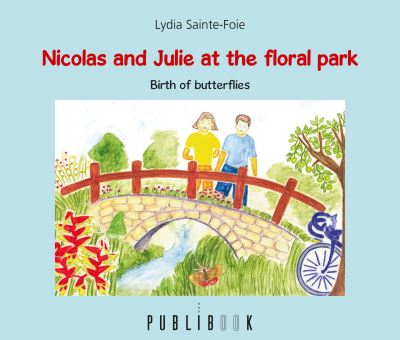 Nicolas and Julie at the floral park