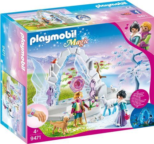 Playmobil Magic Le palais de Cristal 9471 Frontière Cristal du monde de l'Hiver
