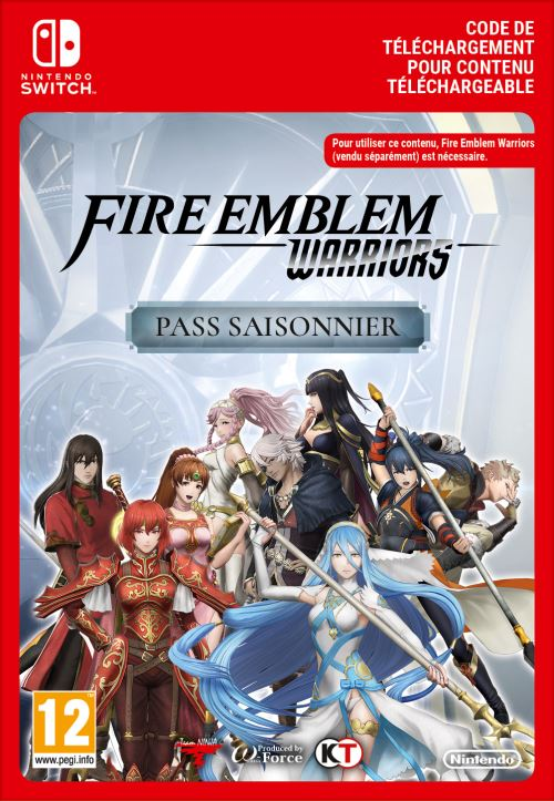 Code de téléchargement Fire Emblem Warriors Expansion Pass Nintendo Switch