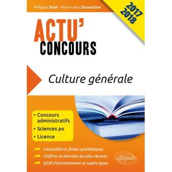 Culture générale 2018