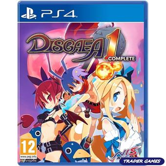 Disgaea 1 complete FR/NL ps4
