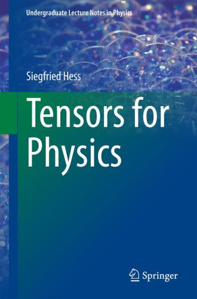 Tensors for physics