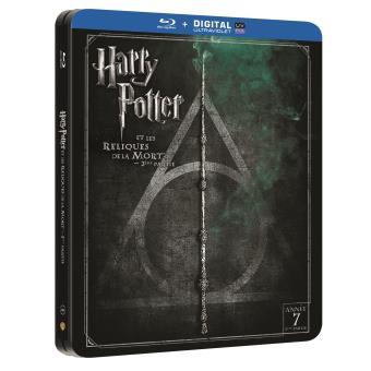 Harry PotterHarry Potter et les reliques de la mort Partie 2 Steelbook Blu-ray