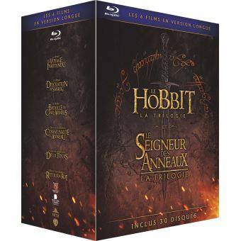 Le Seigneur des anneauxCoffret Middle Earth Extended Edition Light 6 films Blu-ray