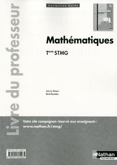 Maths term stmg (galee) prof